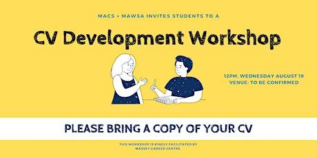 MACS CV Development Workshop tickets