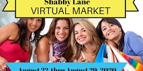 Shabby Lane virtual Shopping Market tickets