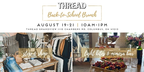Thread's Annual Back to School Brunch tickets