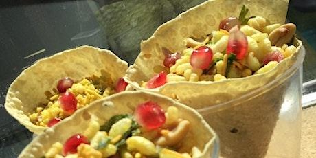 Online Indian Vegetarian Streetfood Course tickets