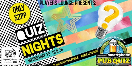 Quiz Nights tickets
