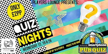 Quiz Nights tickets