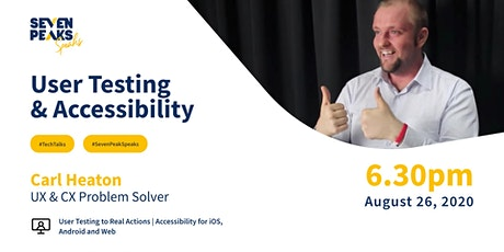 User Testing & Accessibility tickets