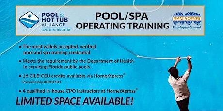 HornerXpress® PHTA Certified Pool/Spa Operator Training (Palm Beach) tickets