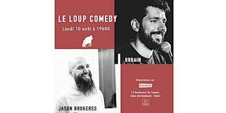 LE LOUP COMEDY  (LUNDI 19H00) billets