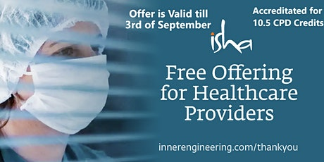 Free Inner Engineering Online Course for Healthcare Providers tickets