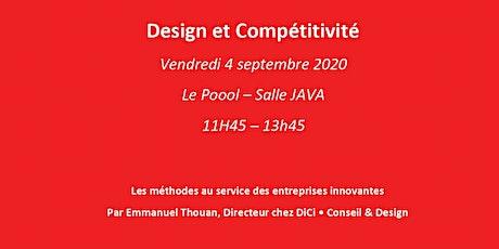 Design & Compétitivité – Les méthodes au service des entreprises innovantes billets