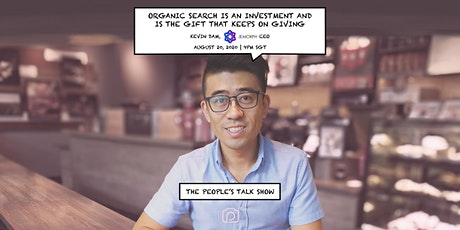 Kevin Dam shares how organic search is the gift that keeps on giving tickets
