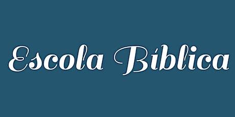 Escola Biblíca ingressos