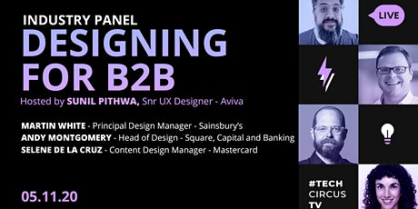 UX Panel: Designing for B2B tickets