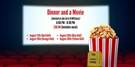 MP Respite: Dinner and a Movie tickets