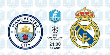 Manchester City vs Real Madrid | Champions League - Sports Bar Madrid entradas