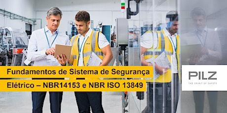 Fundamentos de Sistema de Segurança Elétrico – NBR14153 e NBR ISO 13849 ingressos