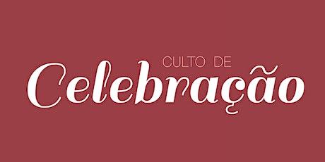 Culto de Celebração ingressos