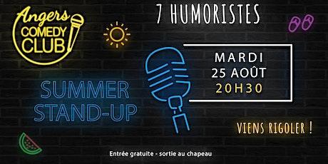 Angers Comedy Club - Mardi 25 août 2020 / Les Folies Angevines billets