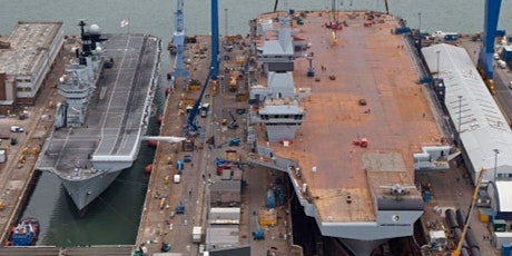 Webinar: Digging Back to the Future - Preparing for HMS Queen Elizabeth tickets