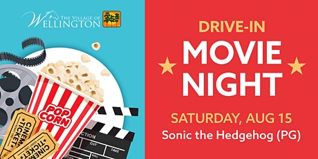 Drive-In Movie Night: Sonic the Hedgehog (PG) tickets