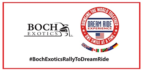 Boch Exotics Rally To Dream Ride tickets