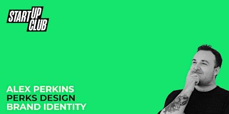 Brand Identity: Alex Perkins tickets
