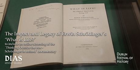 The Impact and Legacy of Erwin Schrödinger´s ´What is Life?´´ tickets