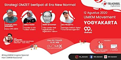 UMKM Movement Yogyakarta - Strategi Omzet berlipat di Era New Normal tickets