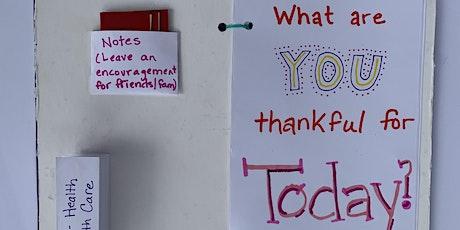 Virtual Workshop: Gratitude Journals tickets