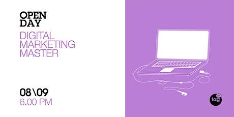 Open Day | Digital Marketing Master biglietti