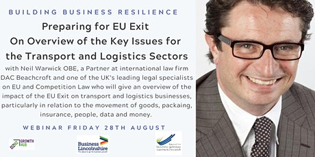 Brexit - Opportunities & Challenges for Transport and Logistics Businesses tickets