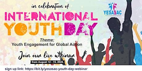 International Youth Day 2020 Webinar tickets
