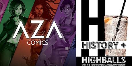 History + Highballs: The Evolution of Female Superheroes tickets