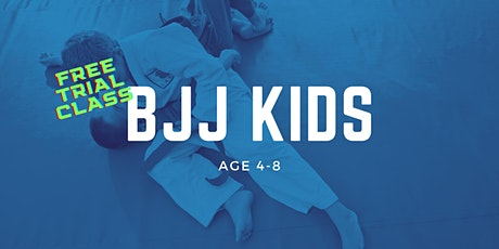 Brazilian Jiu-Jitsu Kids Age 4-8 Trial Class at Gracie Academy Berlin Tickets