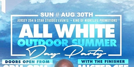 All White Summer Outdoor DAY Party Woodbridge NJ W/ Dj MISTER CEE tickets