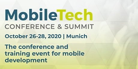 MobileTech Conference 2020 billets