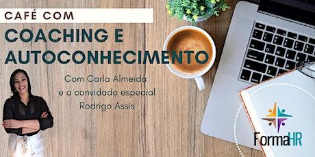 Café com Coaching e Autoconhecimento bilhetes