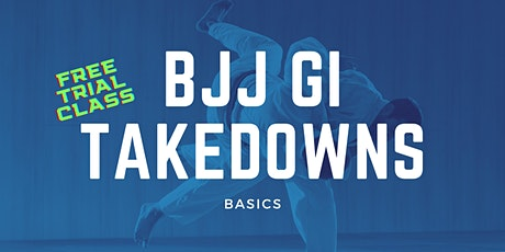 Brazilian Jiu-Jitsu (BJJ) Takedowns Trial Class at Gracie Academy Berlin tickets