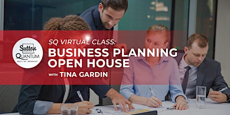 Business Planning Open House with Tina Gardin tickets