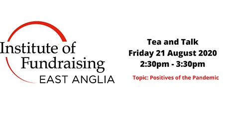 IOF EA Tea and Talk: Positives of the Pandemic tickets