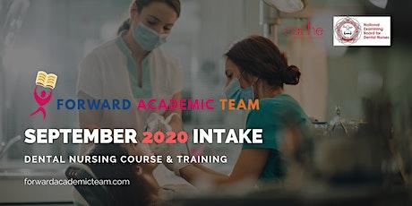 Dental Nursing Course & Training, UK-wide | September 2020 Intake tickets