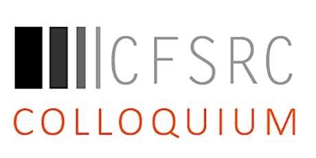 CFRSC Colloquium tickets