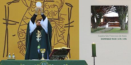 Missa, Dom 9/8 - 9h30 - Capela São Francisco ingressos