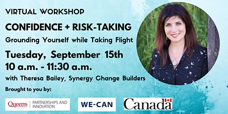 Confidence + Risk-Taking: Grounding Yourself While Taking Flight tickets