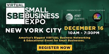 New York City Virtual Small Business Expo 2020 tickets