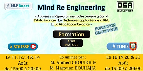 MIND Reengineering - Sousse & Tunis billets