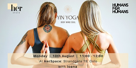 Yin Yoga: where body and mind come together tickets
