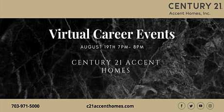 Northern Virginia Real Estate Career Seminar August 19th tickets