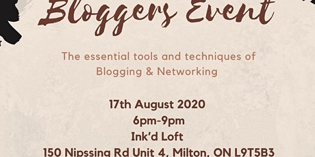 Bloggers Event tickets