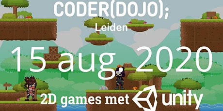 CoderDojo Leiden #70 | 2D games met Unity tickets