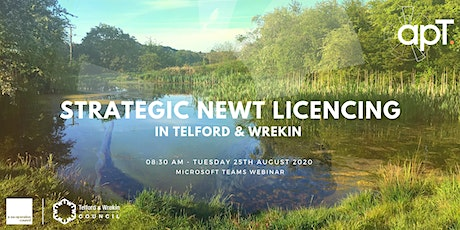 apT - An Introduction to Strategic Newt Licencing In Telford & Wrekin. tickets