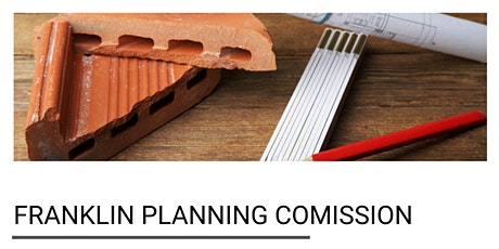 Franklin Planning Comission tickets