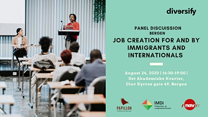 Panel Discussion: Job Creation by and for Immigrants & Internationals tickets